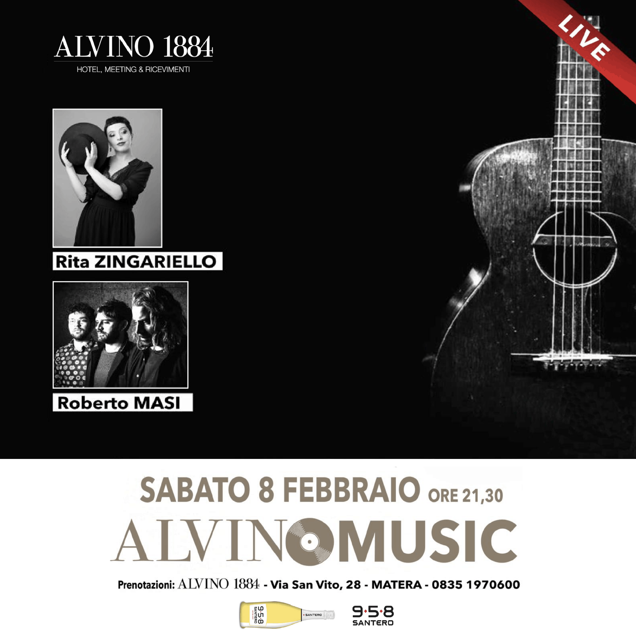 Alvino 1884 - Evento, Live Music