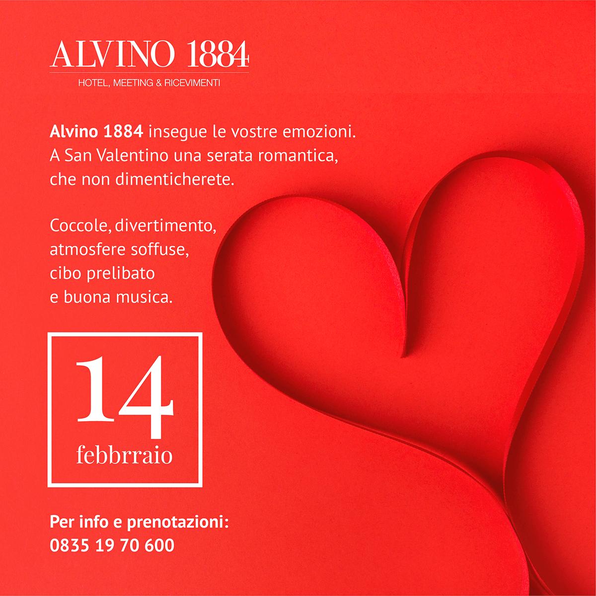 Alvino 1884 - Evento, San Valentino