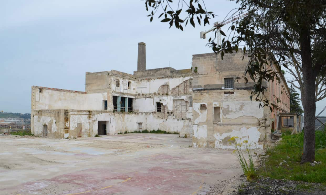 Alvino mill in Matera before the renovation